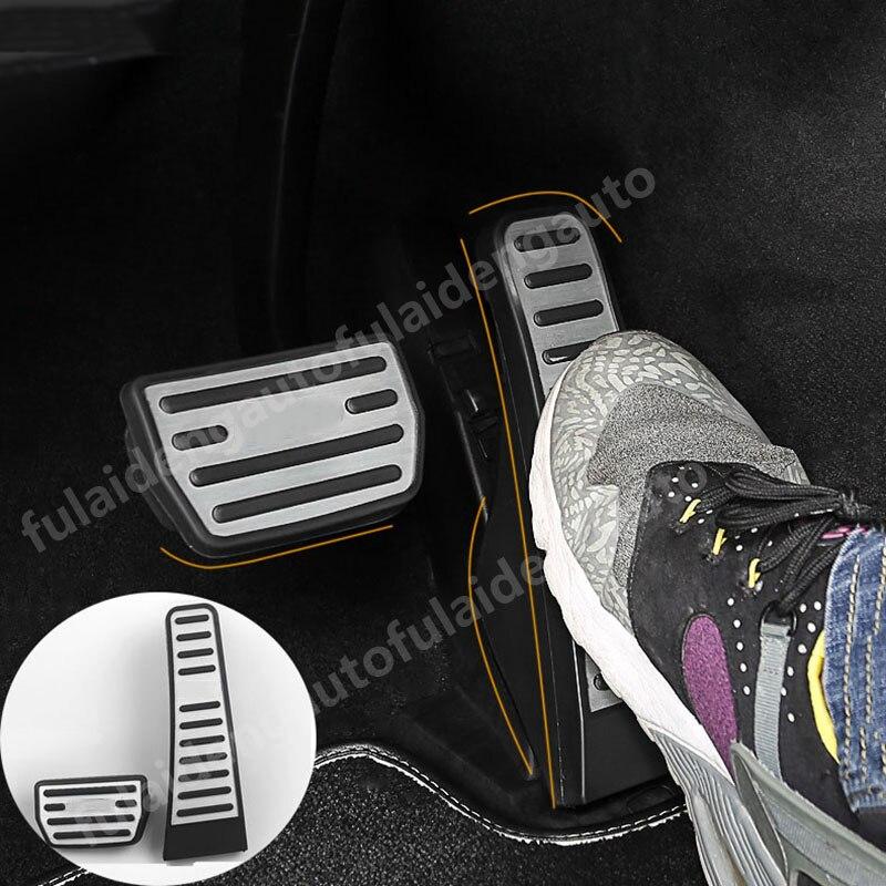 Cover Internal-Trim-Accessories Brake-Accelerator-Pedal-Pad XC60 Aluminum-Alloy Auto