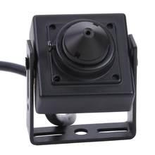 4 en 1 AHD TVI CVI CVBS 2MP Mini caméra de vidéosurveillance sécurité 1080P porte judas caméra système de numérisation Ntsc 525 lignes 60 champ/Sec