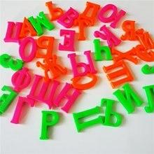 Новые 33 шт. 4 см Русские магниты на холодильник «Алфавит» пластиковые игрушки детские буквы Обучающие игрушки Детские Обучающие Инструменты подарки для детей