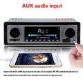 Новый 12 В в тире Bluetooth ручной радио Винтаж Bluetooth Винтаж автомобильный Радио MP3 плеер стерео USB AUX классический автомобильный стерео аудио