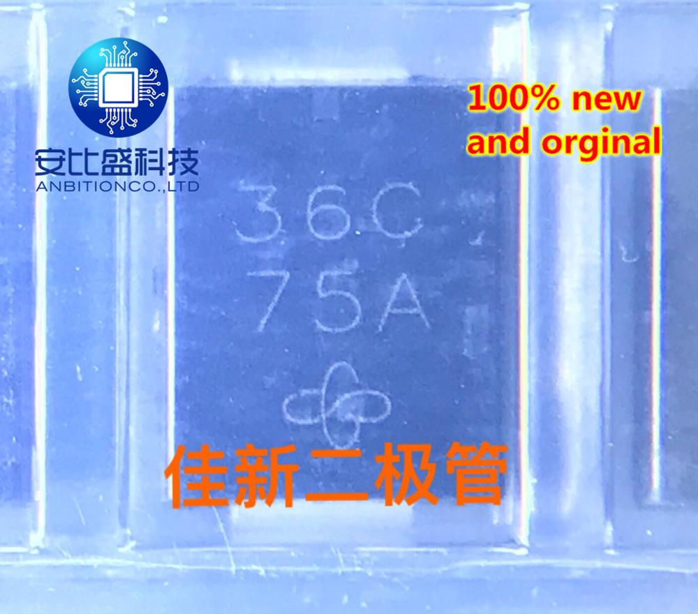 30pcs 100% New And Orginal 1.5SMC36CAHE3/57T 36V Two-way Car TVS Diode DO-214AB Silk Screen 36C     In Stock