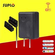 SUPLO Smart Wi-Fi Garage Door Opener, Wireless Remote Smartphone APP Control, Compatible with Alexa, Google Assistant and IFTTT