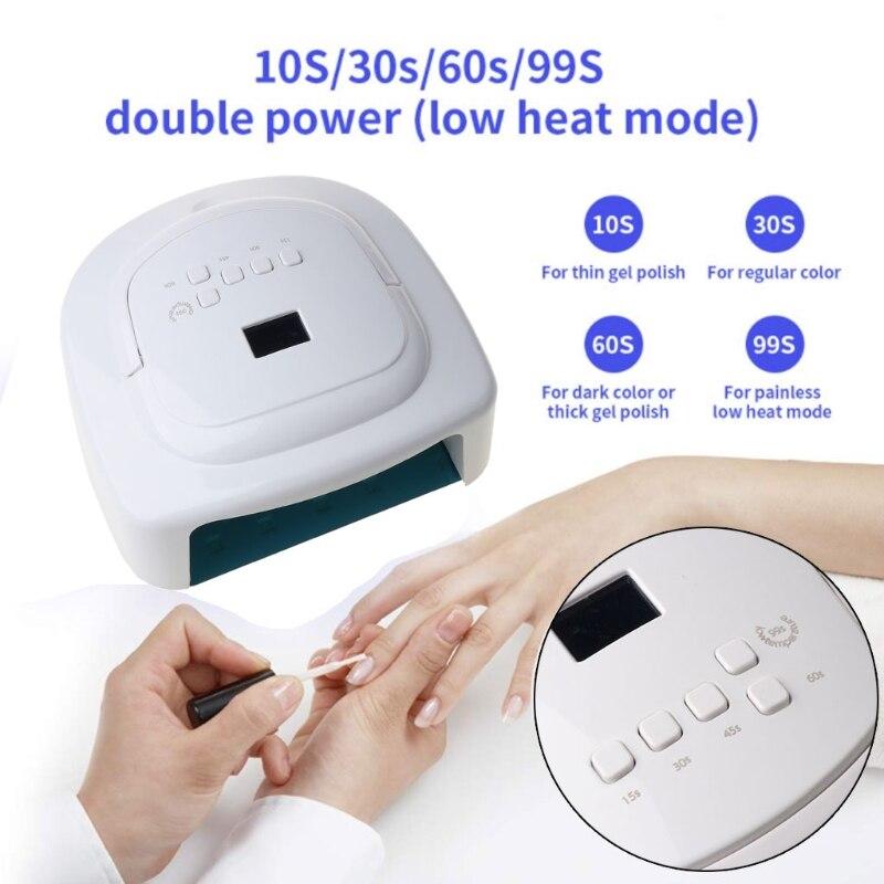 120W UV LED Nail Lamp Faster UV Resin Curing Dryer el Polish UV Gel Lamp Tools