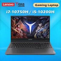 Lenovo-laptop original lego y7000, computador portátil com processador intel core/i5-10200H x200ti, gpu 16g ddr4 1650g, ssd