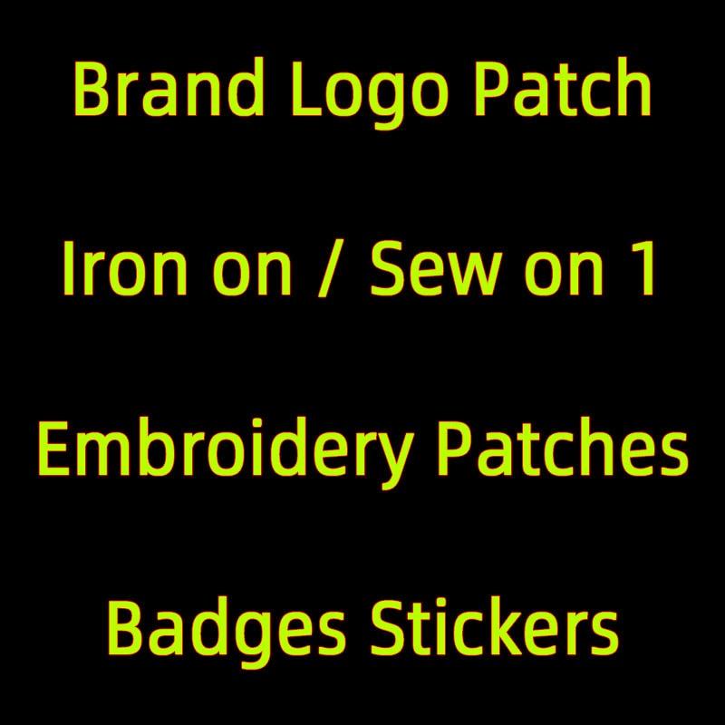 Утюг на буквы бренда Marque логотип нашивки на одежду, аппликация из серии
