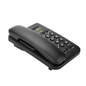 Image 5 - 유선 전화 집 전화 FSK/DTMF 듀얼 시스템 호텔 유선 데스크탑 벽 전화 사무실 유선 전화 핸들 케이블 전화