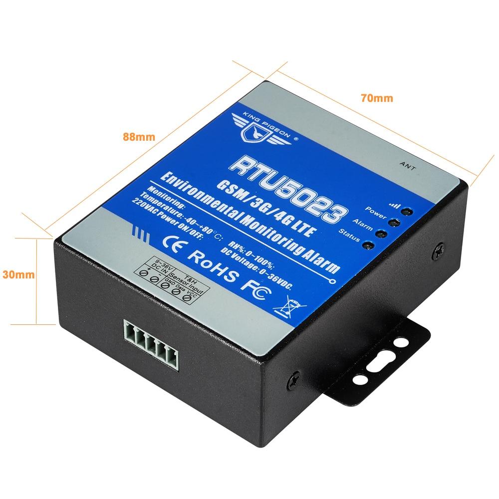 GSM Sıcaklık Nem Monitör AC / DC Güç Kayıp Alarm Uzaktan - Güvenlik ve Koruma - Fotoğraf 6