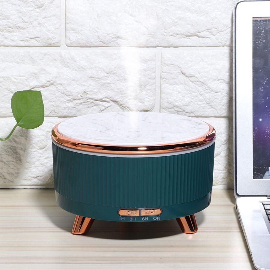 Ультразвуковой увлажнитель воздуха 600 мл, Ароматический диффузор эфирного масла, домашний Автомобильный USB-генератор тумана 100-240 В