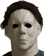 Michael Myers Mask Halloween Party Horror Full Head Adult Size Latex Masks Fancy PropsG