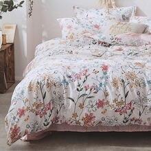 Комплект постельного белья morpheus из 100% хлопка розовое постельное