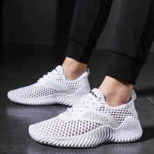 Men Sneakers 2020 New Men Shoes Lace Up Breathable Mesh Male Trend Shoes Tenis Masculino Men Casual Shoes Krasovki Men Summer zanvllchy men shoes 2018 summer soft breathable men casual shoes lace up high quality couple flat mesh ultra boost tenis shoes