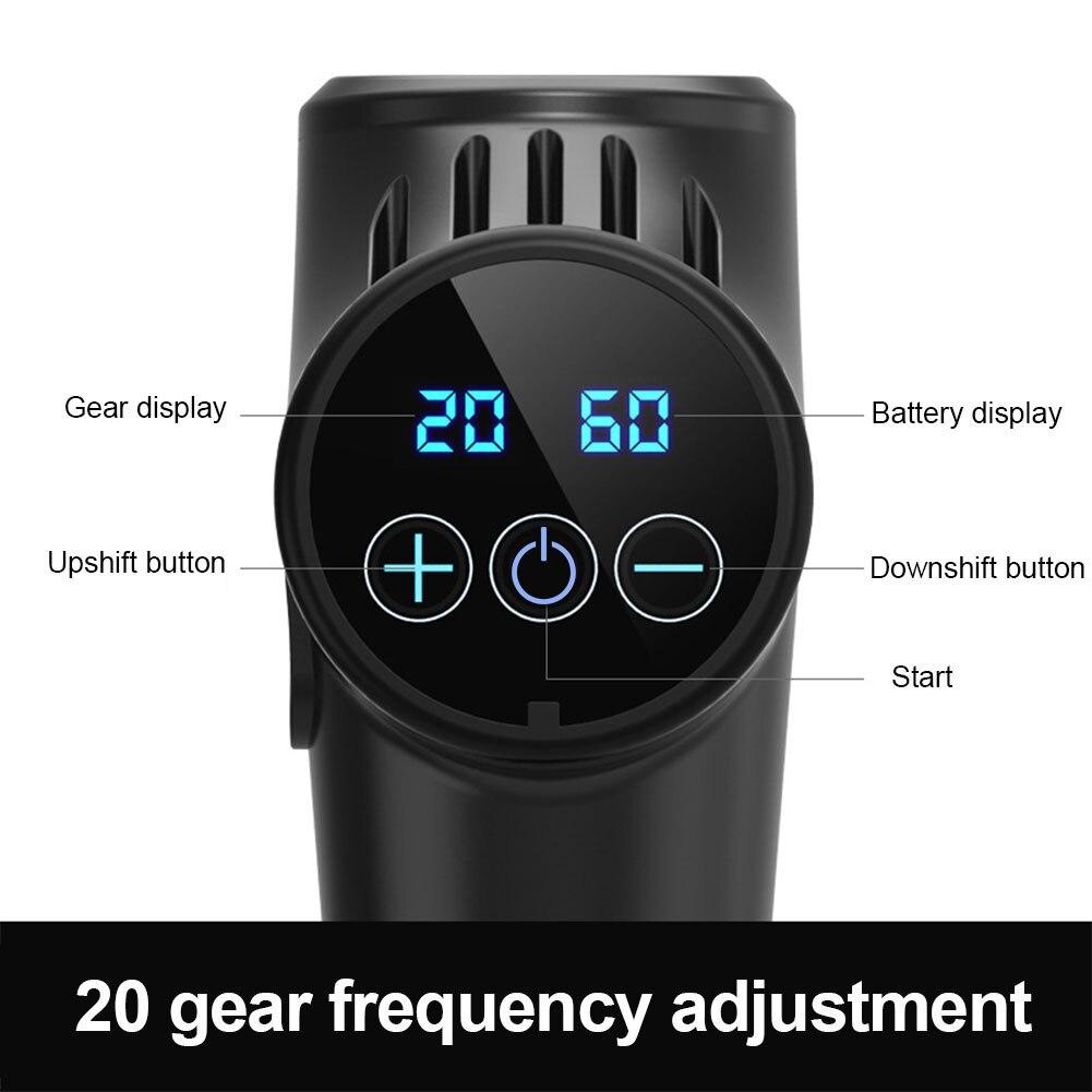 Electric Muscle Massage Gun  3