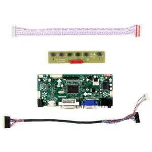 M. nt68676 kit de placa motorista para N173O6-L02 N173O6-L01 hdmi + dvi + vga lcd led placa controlador de tela