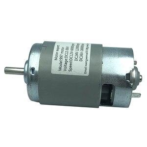 Image 3 - 997 Krachtige Dc Motor 12 36V Hoge Snelheid Motor Stil Kogellager Motor