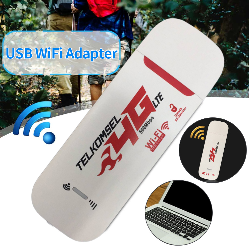 Wifi Adapter Mini Portable Network Card Universal 4G LTE Modem USB Wireless For Laptop Dongle 150Mbps High Speed Wi-fi Hotspot