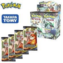 324pcs Pokemones 카드 Sun & Moon GX 팀 Unbroken Bond Unified Minds Evolutions 부스터 박스 Collectible Trading Cards 게임