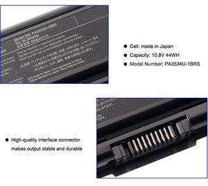 Image 4 - KingSener PA3534U 1BRS dizüstü pil Toshiba uydu A200 A210 A300 A350 L300 L500 L500D PA3533U PA3534U PA3535U 1BAS
