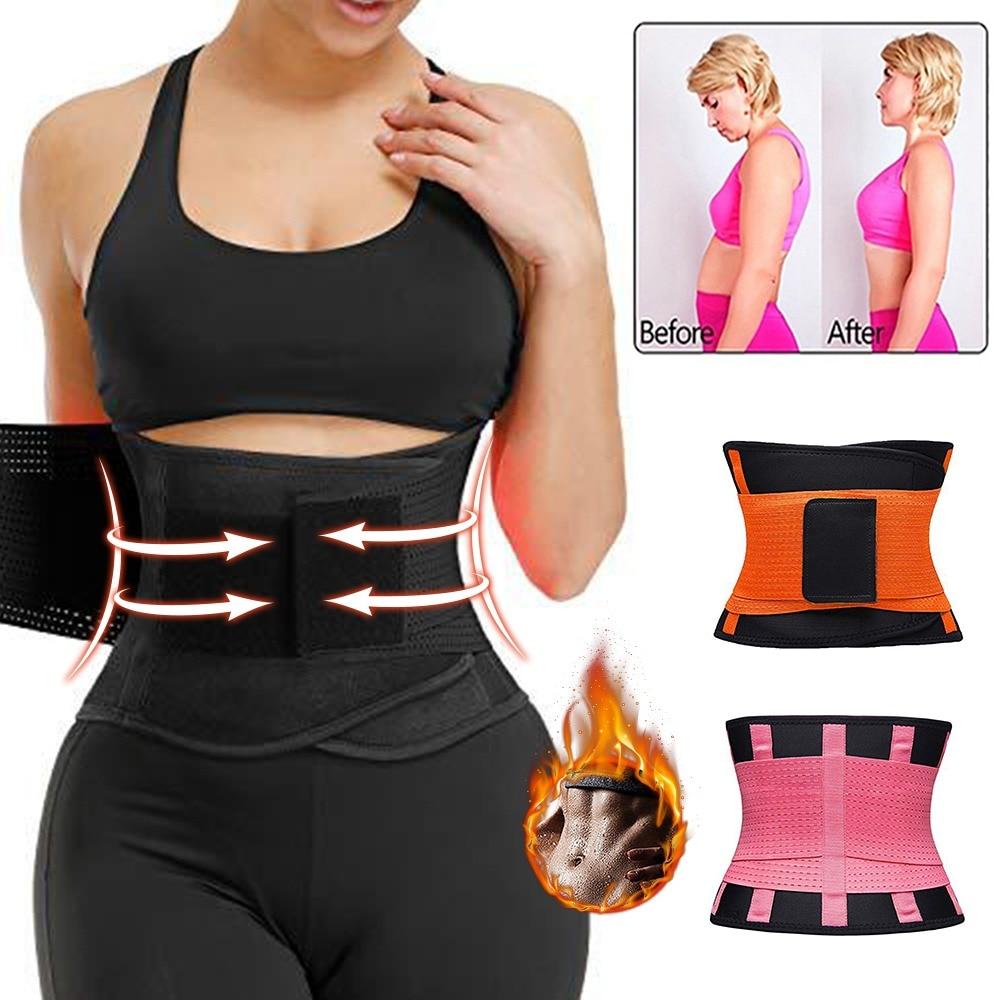 Corsetto da donna allenatore da donna Top Shaper da donna cintura dimagrante cinturino modellante Body Shaper corsetto cintura in vita cintura lombare in Neoprene 1