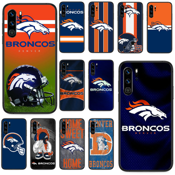 Denver Bronco American Football Phone case For Huawei P 9 Smart 10 20 30 40 8 Lite Mini Z 2019 Pro black waterproof trend back image