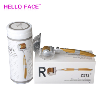 ZGTS Professional Titanium Mesoroller Derma Luxury Roller 192 needle for face care and hair-loss treatment CE Certificate Proved фото