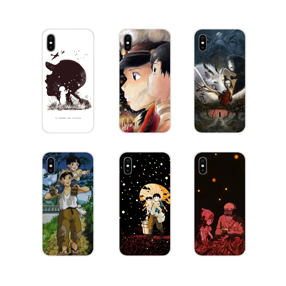 For Apple iPhone X XR XS 11Pro MAX 4S 5S 5C SE 6S 7 8 Plus ipod touch 5 6 Accessories Phone Shell Covers Grave Fireflies