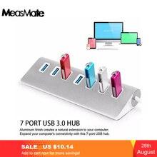Cáp USB 3.0 Hub USB 3.0 Bộ Chia USB 7 Cổng Bộ Chia USB Adapter USB3.0 Nối Dài Cho Macbook PC Laptop Ổ Cứng