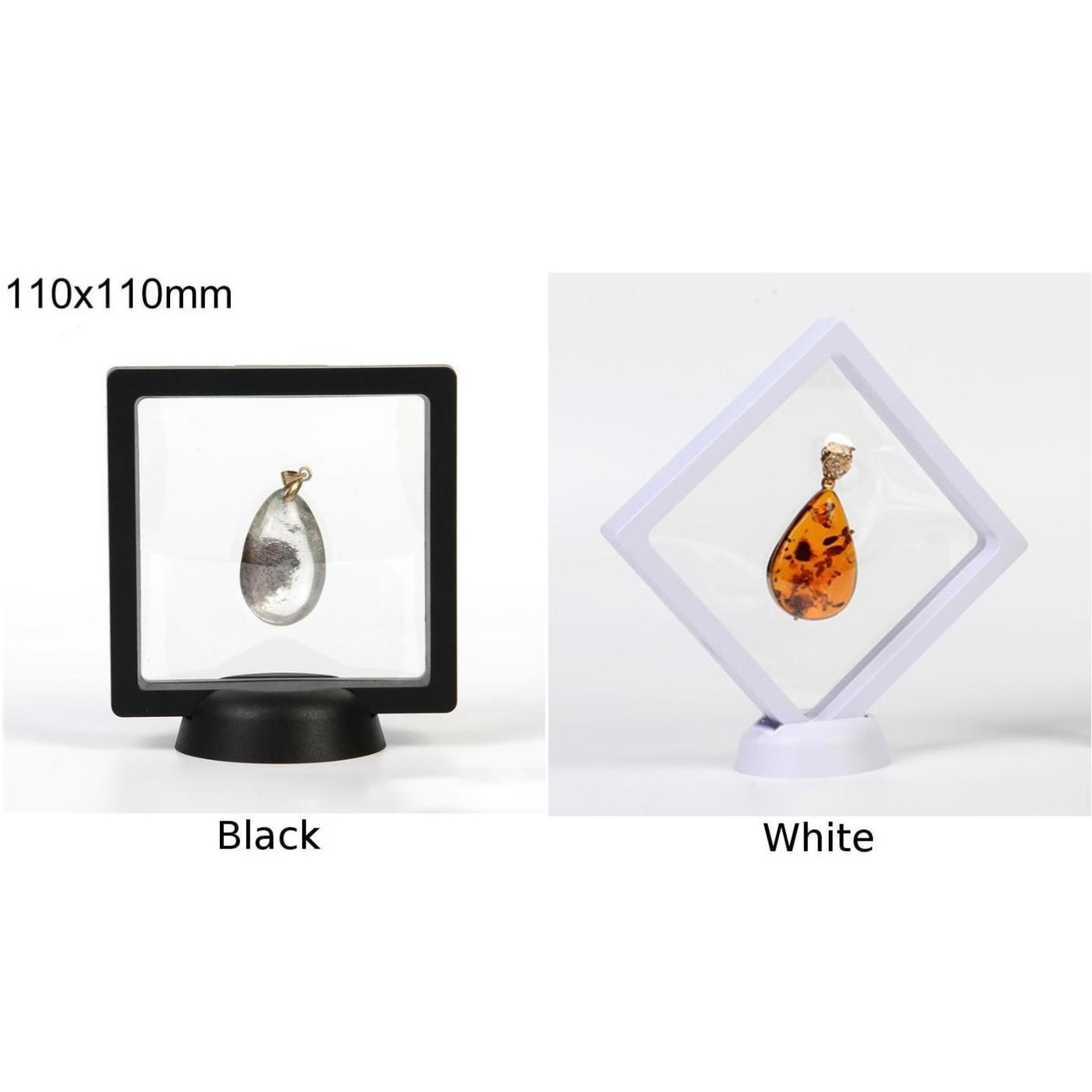 3D Floating Frame Shadow Box Picture Frame Jewelry Display Hypoxia Protection