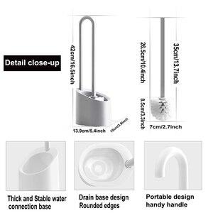 Image 5 - Щетка для унитаза с мягкой щетиной и магнитной подвеской