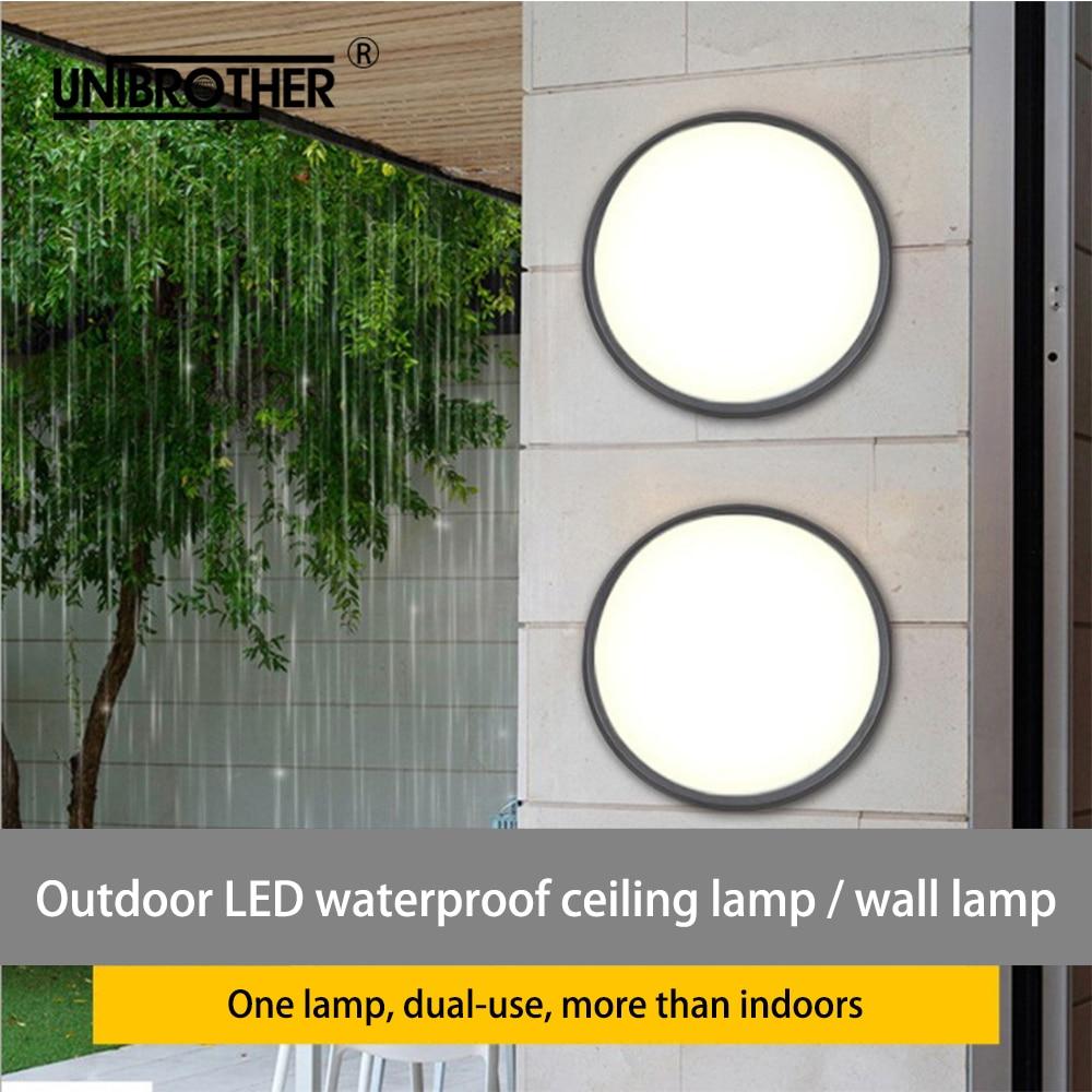 Outdoor Led Ceiling Light Lamps Waterproof Bathroom Moisture-proof Lights Lamp 12W-28 Windoor Corridor Surface Mounted