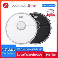 Roborock – aspirateur S5 max, Robot humide et sec, balayage et stérilisation de la poussière, planification intelligente, mise à niveau pour modèle S50 S55, 2021