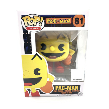 Funko Pop PAC-MAN PACMAN #81 CLYDE #86 BLUE GHOST #87 Vinyl Action Figure Dolls Toys 2