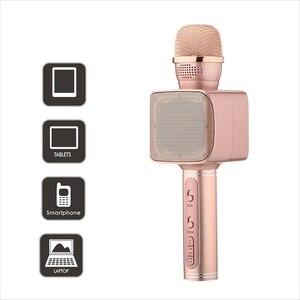 Image 3 - SU YOSD Ys 68 karaoke microfone com luz noturna na mão