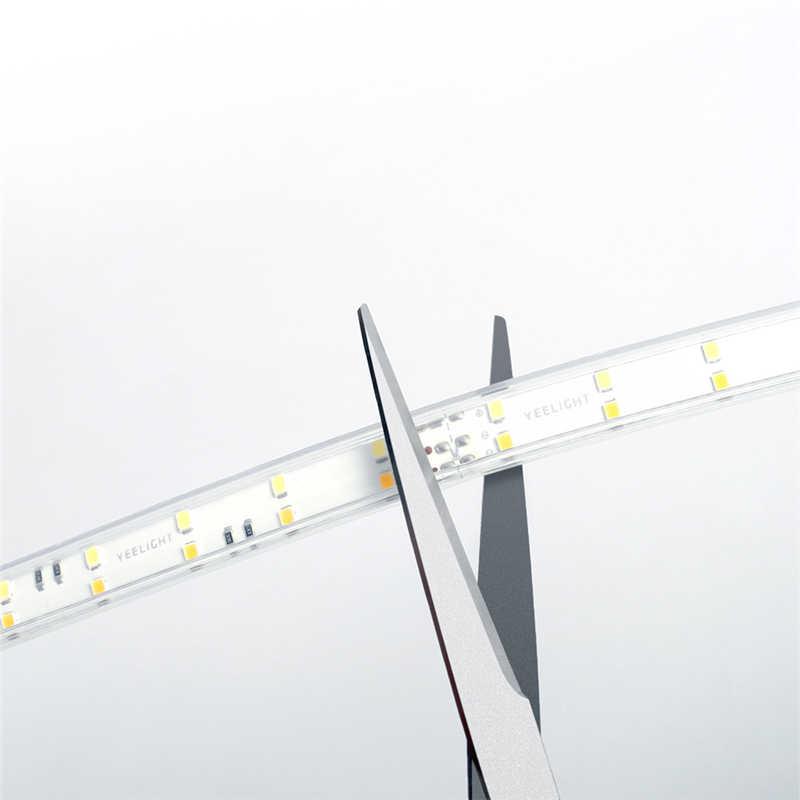 Bóng Đèn Thông Minh Yeelight AC220-240V 500LM/M Thông Minh 5M Dây Đèn LED Đèn Lái Xe Hoạt Động Với Alexa HomeKit Chống Nước IP65 Cho Mijia ứng Dụng Mờ
