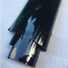 50cm x 2 m/3 m/5 m גבוהה מבריק ויניל לרכב גלישת פסנתר שחור מבריק רכב קטנוע אופנוע DIY דבק PVC סרט גיליון