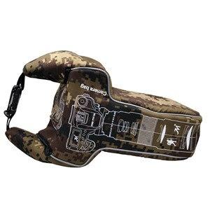 Image 3 - 삼각형 위장 디지털 dslr 카메라 비디오 가방 렌즈 튜브 shockproof 스포츠 사진 보호 케이스 펜탁스 캐논 니콘에 대한