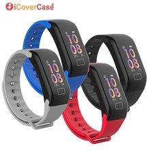 Inteligentny zegarek nadgarstek ciśnienie krwi IP67 wodoodporny zegarek na rękę pasek dla Xiaomi Redmi 7 7A 6 6A 5A 5 Plus 4A 3S uwaga 7 6 5 Pro 4 4X 3