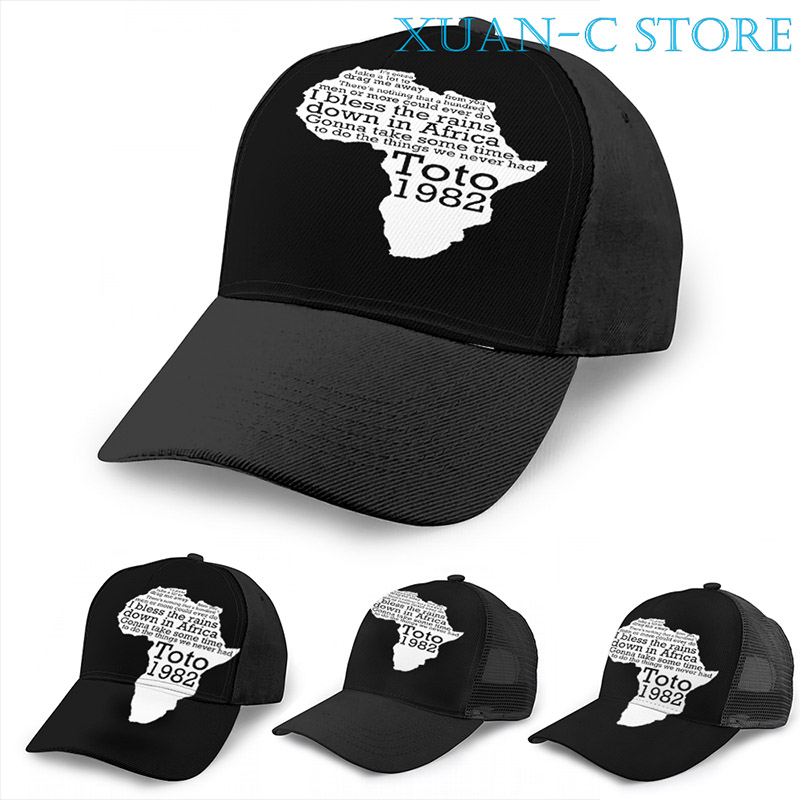 Bless The Rains Down in Africa Adult Trendy Jeans Hip Hop Cap Adjustable Baseball Cap