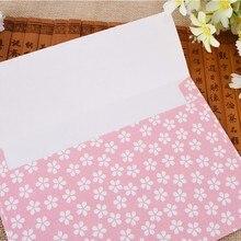 4шт в упаковке Сакура конверт письмо письмо бумага канцелярские товары красивый цветок офис школа поставка