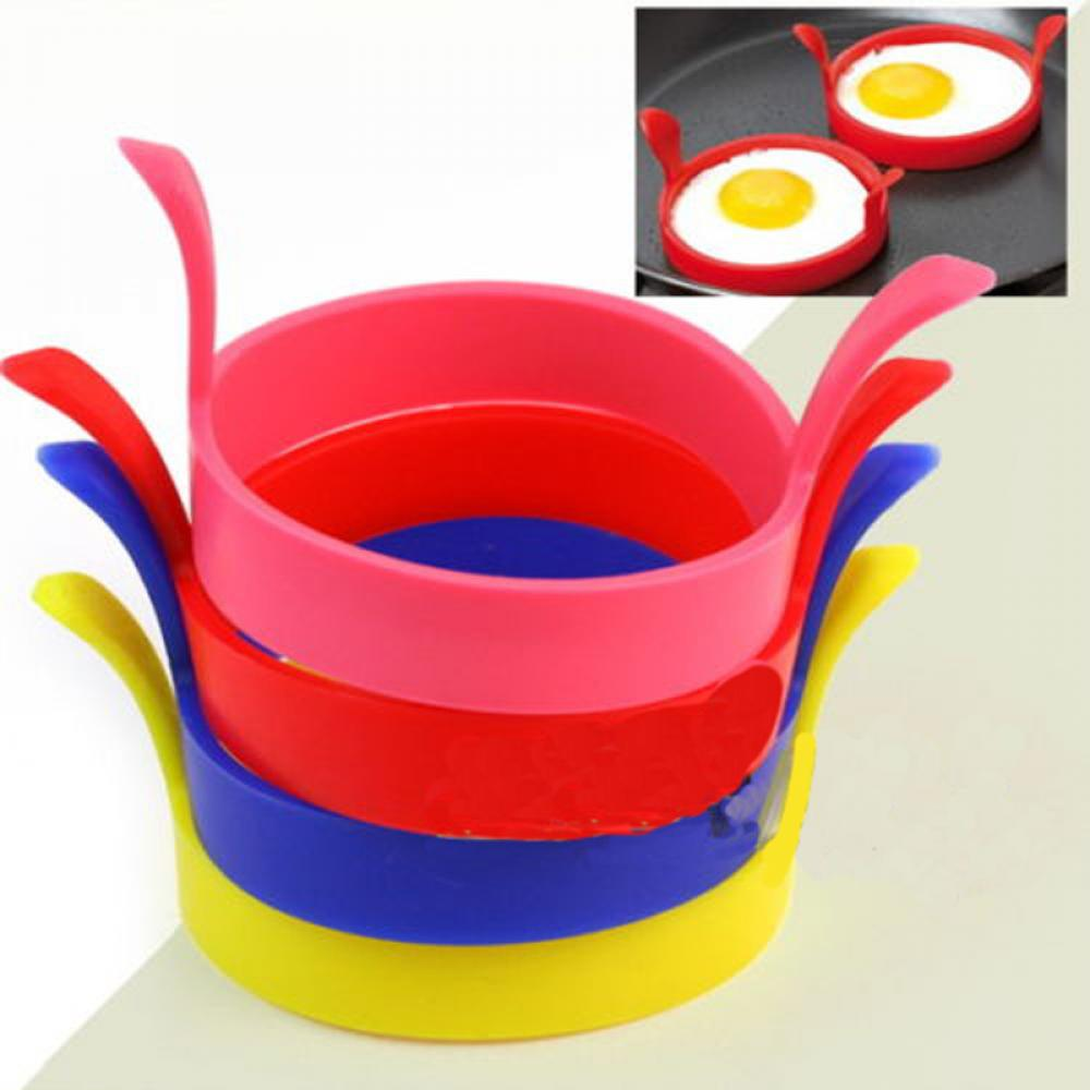 Силиконовый жареный яичный блин кольцо омлет жареное яйцо круглый формирователь форма для яичницы для приготовления пищи для завтрака сковорода духовка кухня