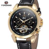 Forsining 새로운 방수 다이아몬드 자동 시계 남자 톱 브랜드 럭셔리 기계식 시계 남자 해골 시계 뚜르 비옹 남자 시계