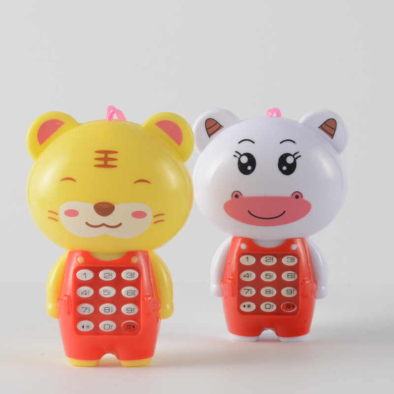 Hogar bebé teléfono móvil juguete lindo niños Cellhone juguete educación temprana teléfono bebé juguetes niños regalos de navidad