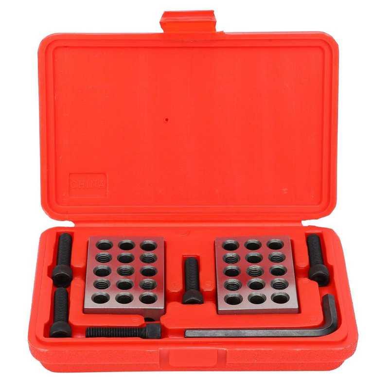 1 пара Ультра точных 1-2-3 блоков, супер экстрактность 23 Отверстия с винтовой гаечной коробкой, плотничные ручные инструменты, доставка внутри...
