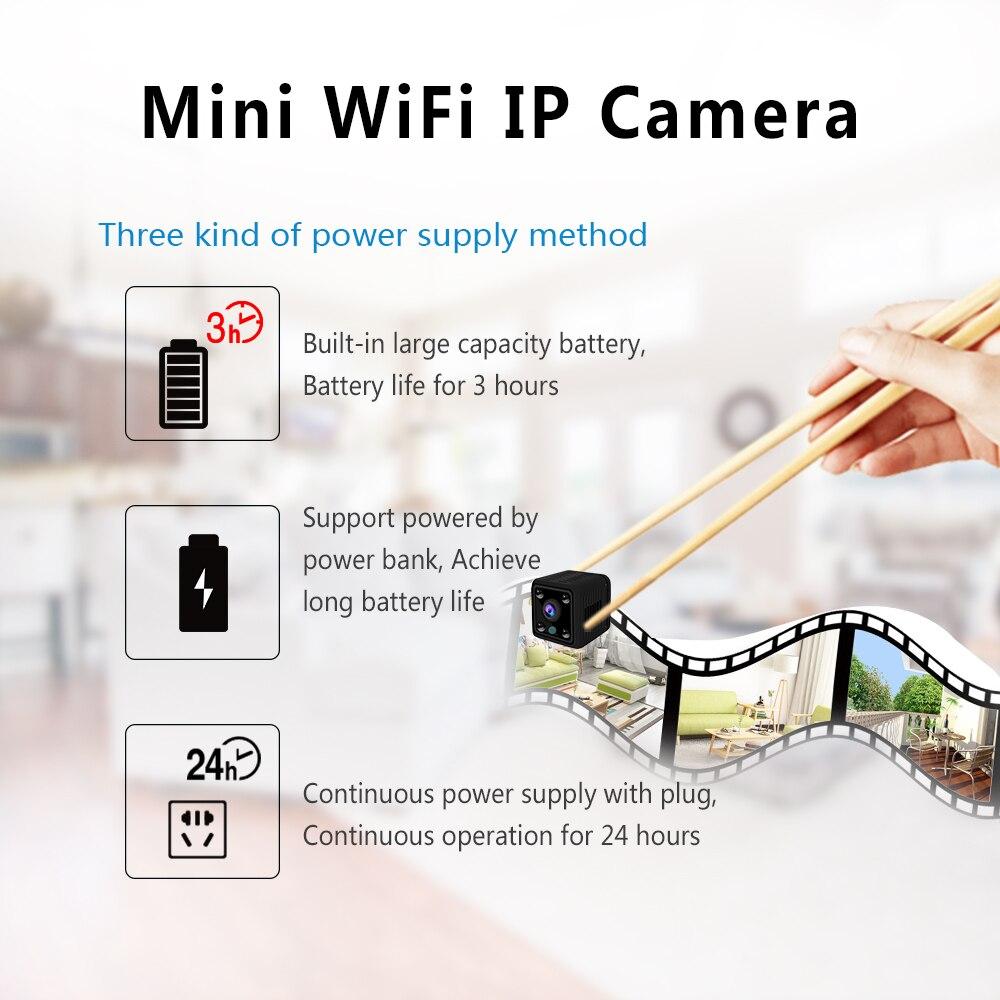 Image 3 - Mini Camera HD 1080P Sensor Night Vision Camcorder Indoor Micro Camera DC 5v Powered Video Surveillance Camera-in Surveillance Cameras from Security & Protection