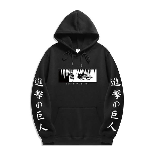ATTACK ON TITAN THEMED HOODIE (20 VARIAN)