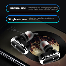 Portable TWS 5.0 earphone Bluetooth with Mic for iphone in-ear Stereo Wireless Earbus HIFI Sound Sport Earphones headsets geofox wireless earphone bluetooth earbuds in ear stereo sound sport earphone i7s tws for samsung iphone
