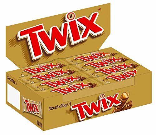 Twix 50g - Lot De 32