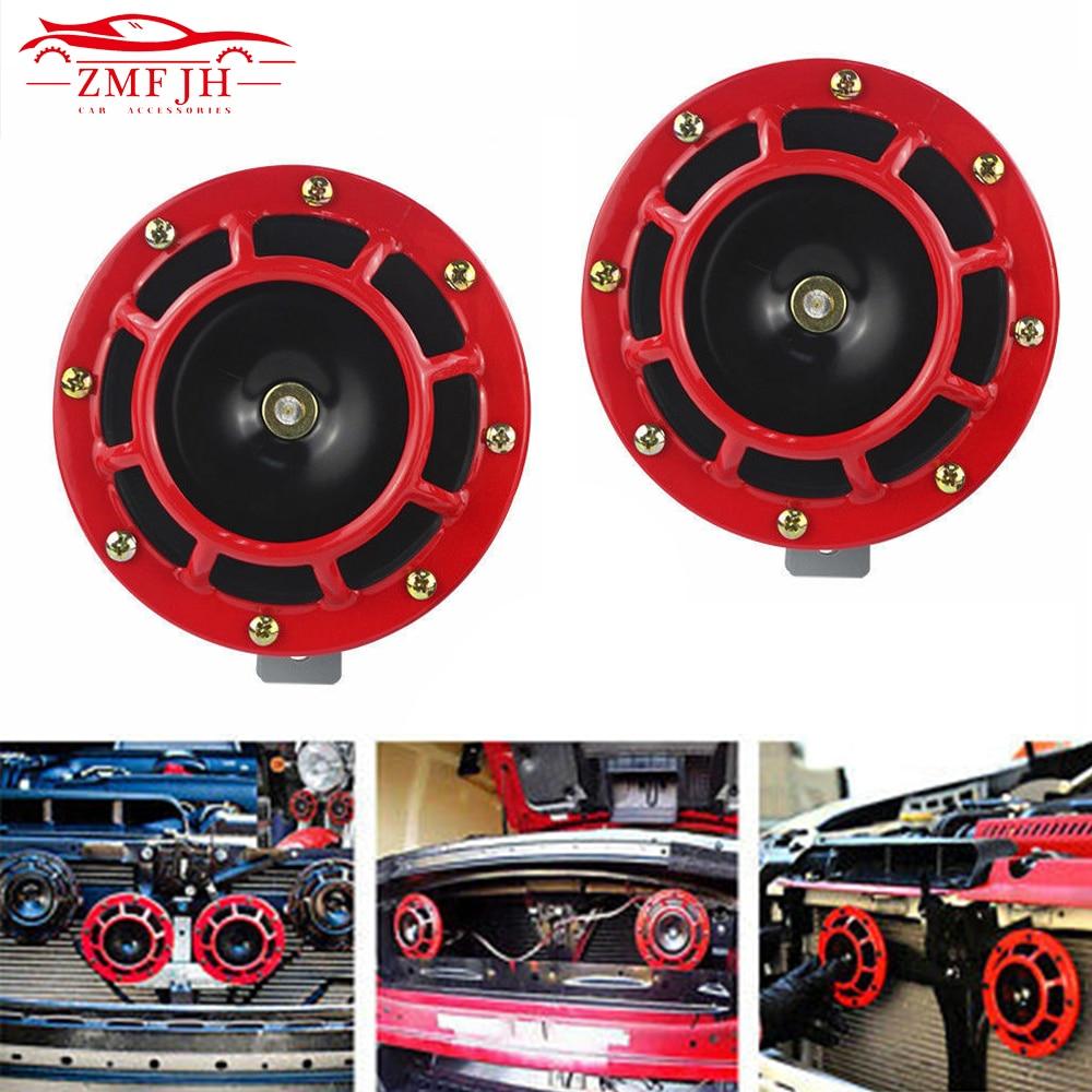 2 шт. 12 в 115 дБ Hella супер громкий компактный электрический звуковой сигнал, автомобильный воздушный рожковый комплект для мотоцикла и автомоб...