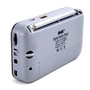 Image 3 - רכב דיגיטלי DAB רדיו נייד סטריאו רמקול מיני אלחוטי BT MP3 נגן FM רדיו