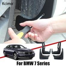 Garde-boue pour BMW série 7, E65, E67, F01, F02, 2003 ~ 2020, garde-boue, accessoires de voiture, 2018, 2015, 2010