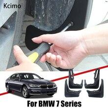 Çamurluklar BMW 7 serisi için E65 E67 F01 F02 2003 ~ 2020 çamurluk çamur Flaps splash muhafızları araba sıçrama aksesuarları 2018 2015 2010